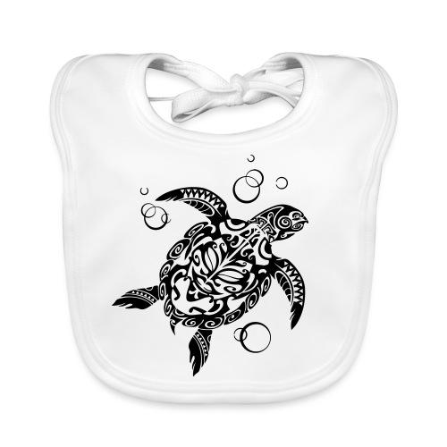 Watchful Turtle - Organic Baby Bibs