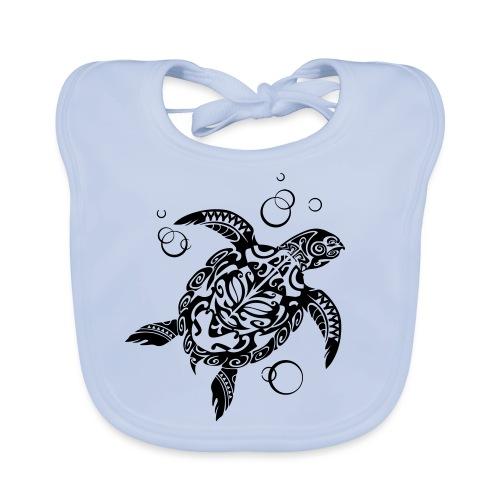 Watchful Turtle - Baby Organic Bib
