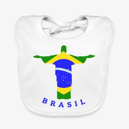 Brasil Flag Statue - Baby Bio-Lätzchen