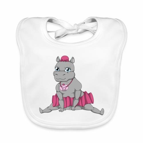 Little Big Hippo - Bavoir bio Bébé