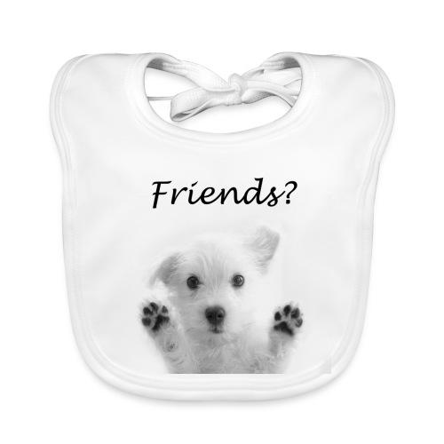 puppyfriends - Bio-slabbetje voor baby's