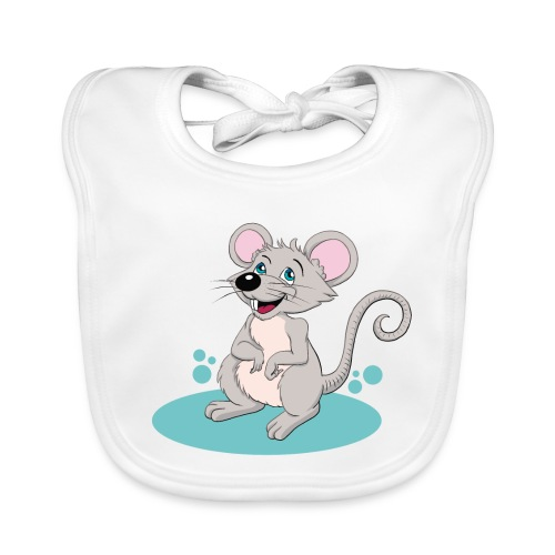 Kleine Maus - Baby Bio-Lätzchen