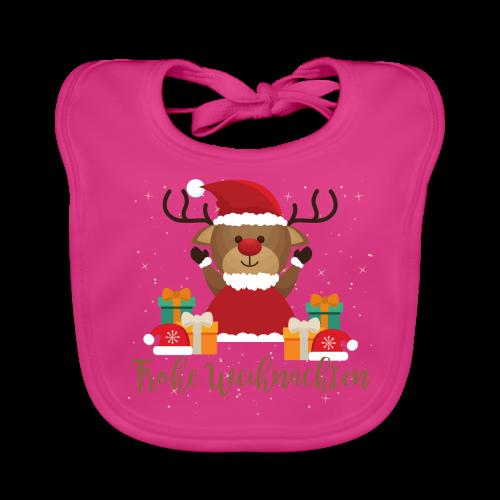 Frohe Weihnachten - Baby Bio-Lätzchen