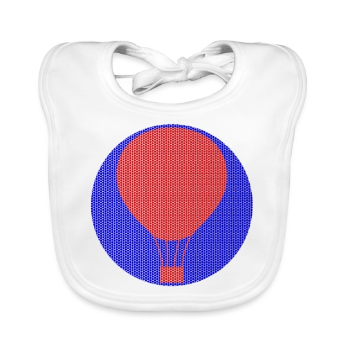 Heissluftballon - Baby Bio-Lätzchen