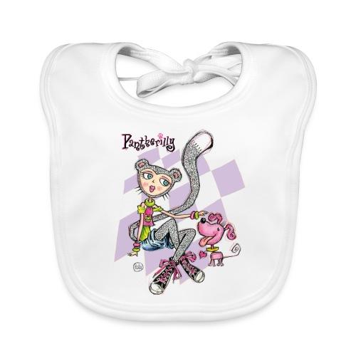Pantherilly Sneaker - Bavaglino ecologico per neonato