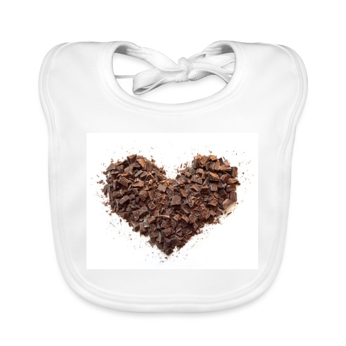 LOVERZ GONNA LOVE chocolat - Bavoir bio Bébé