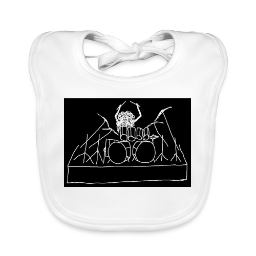 Drummer - Baby Organic Bib