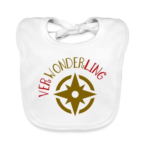 Verwonderling logo klein - Bio-slabbetje voor baby's
