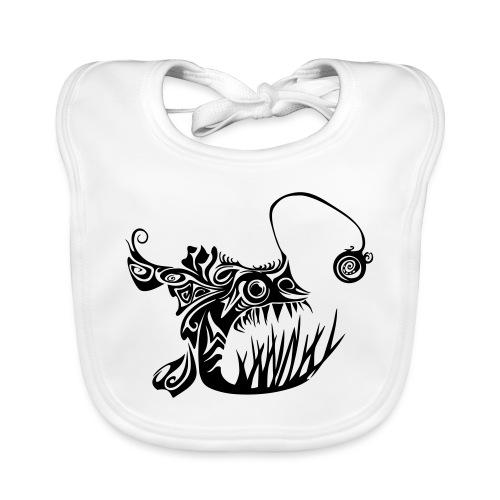 Cranky anglerfish - Baby Organic Bib