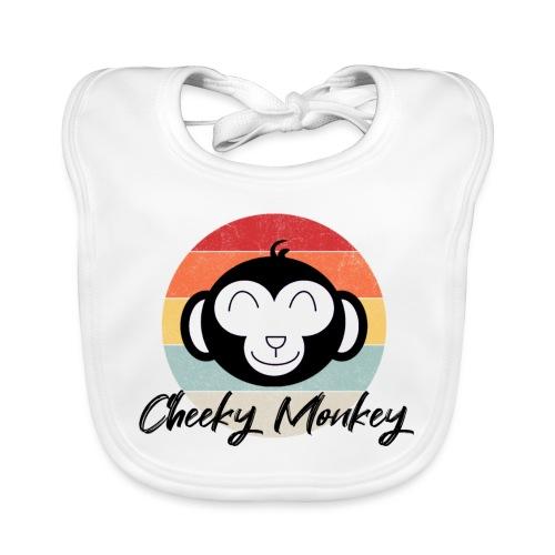 Cheeky monkey - Bio-slabbetje voor baby's
