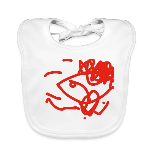 Toddler art - Organic Baby Bibs
