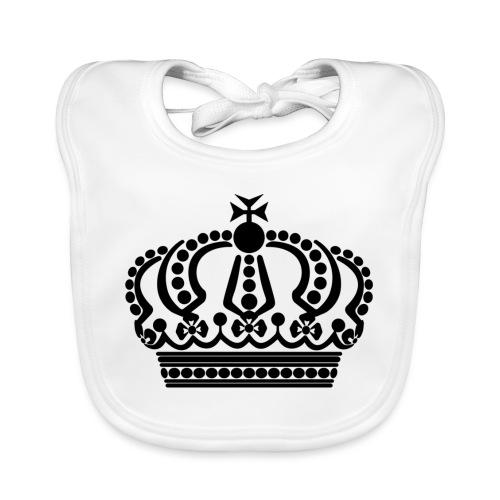 kroon keep calm - Bio-slabbetje voor baby's
