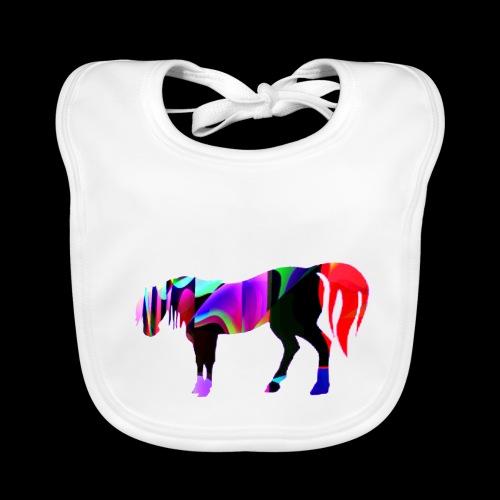 Cavalo triste - Bavoir bio Bébé