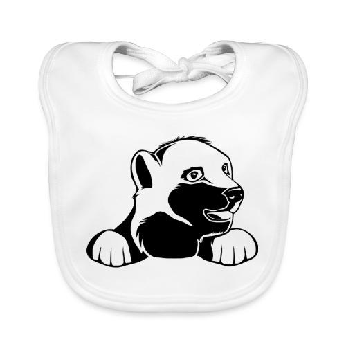 ijsbeer shirt - Bio-slabbetje voor baby's