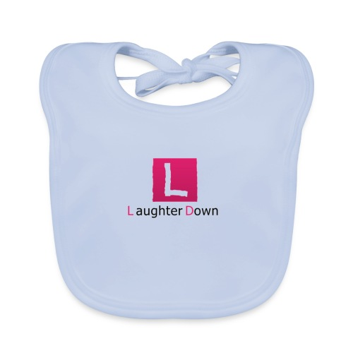 laughterdown official - Baby Organic Bib