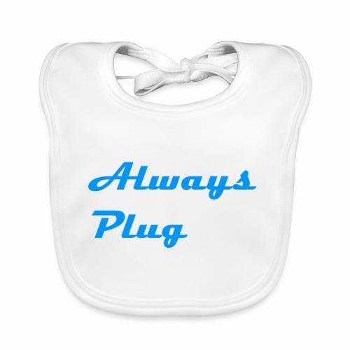 MattMonster Always Plug Merch - Baby Organic Bib