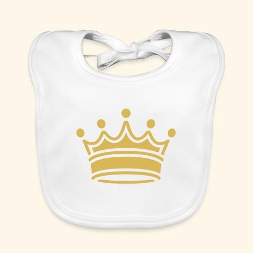 crown - Baby Organic Bib