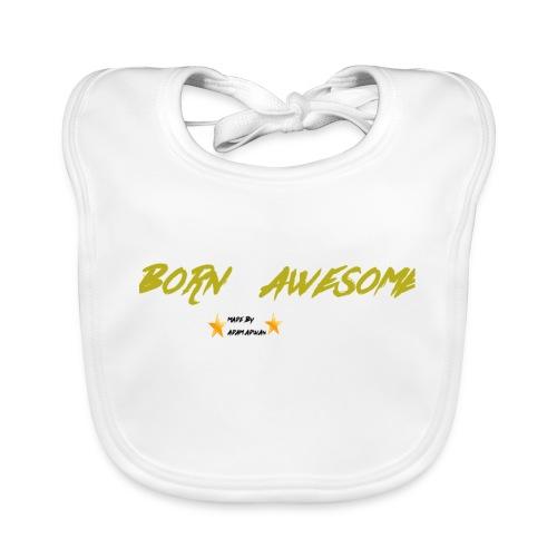 born awesome - Organic Baby Bibs