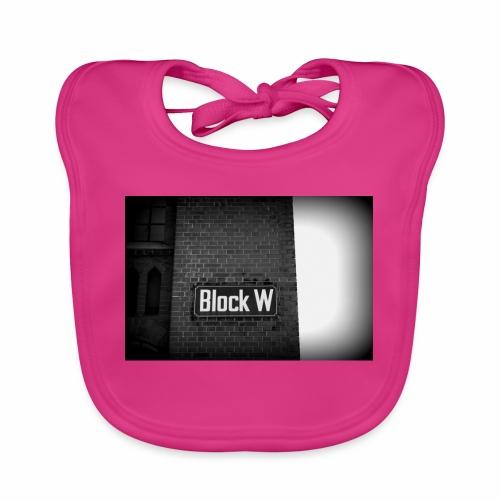 Original Artist design * Block W - Baby Organic Bib