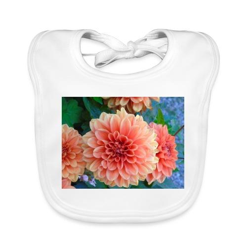 A chrysanthemum - Baby Organic Bib