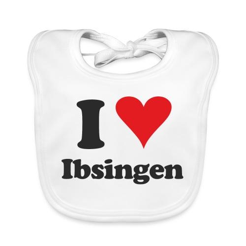 I Love Ibsingen - Baby Bio-Lätzchen