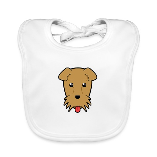 Shari the Airedale Terrier - Organic Baby Bibs