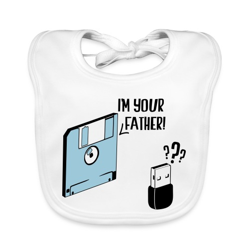I'm your father - Bavoir bio Bébé
