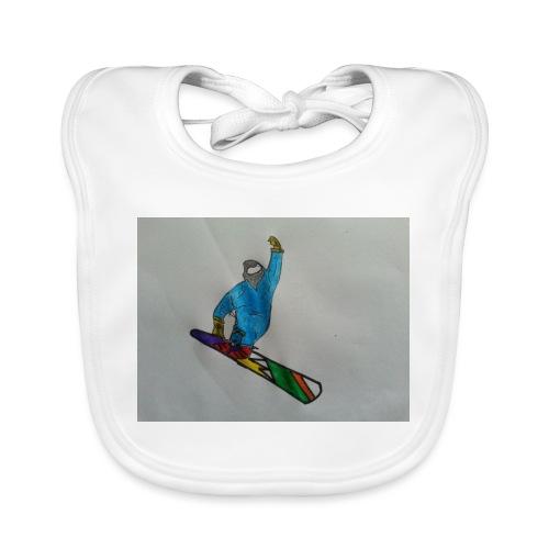 snowboard - Bavaglino ecologico per neonato