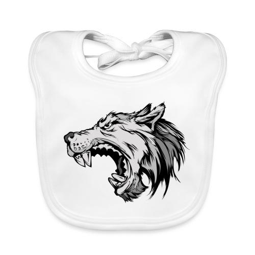 wolves logo 4 - Baby Organic Bib