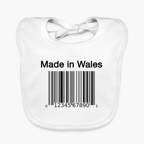 Made in Wales - Baby Organic Bib
