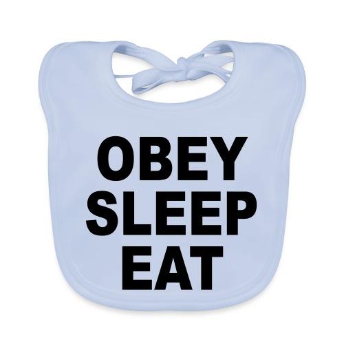 obey sleep - Bavoir bio Bébé