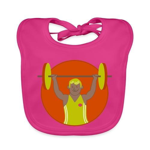 Motivation musculation - Bavoir bio Bébé