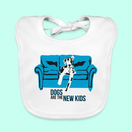 Dogs are the New Kids - Baby Bio-Lätzchen