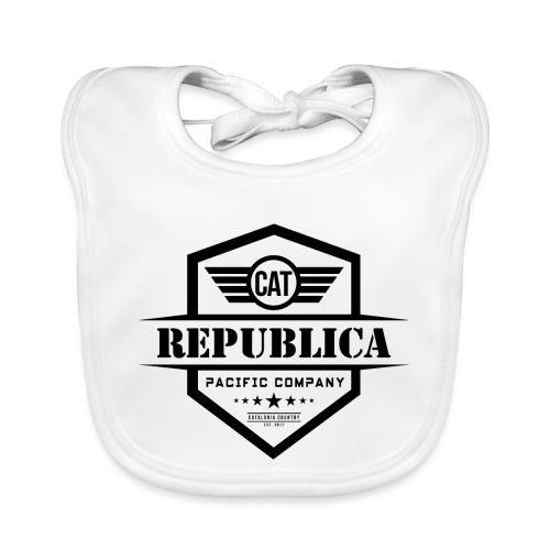 REPUBLICA CATALANA ELEGANT - Babero de algodón orgánico para bebés