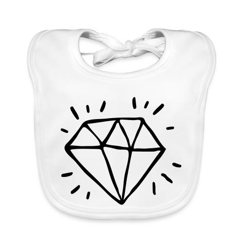 diamant - Bavoir bio Bébé