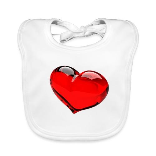 serce 3D - Ekologiczny śliniaczek