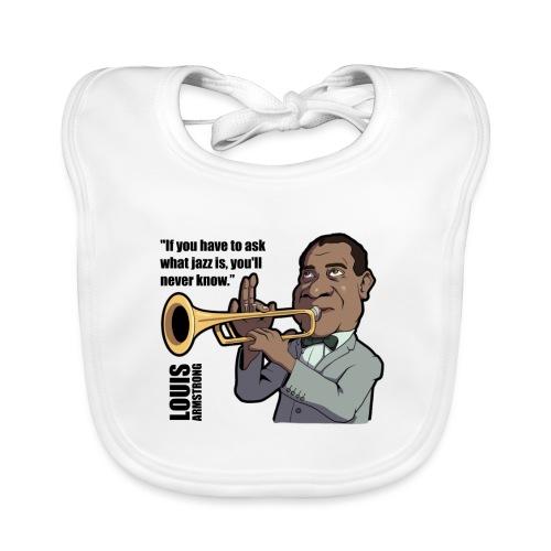 Louis Armstrong - Bavoir bio Bébé