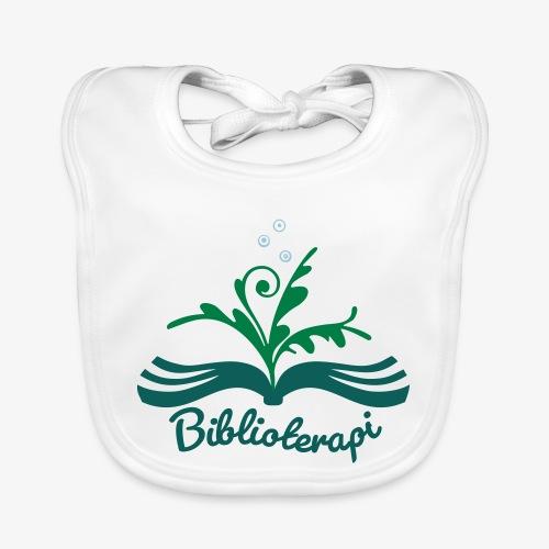 Biblioterapi - börja så! - Ekologisk babyhaklapp