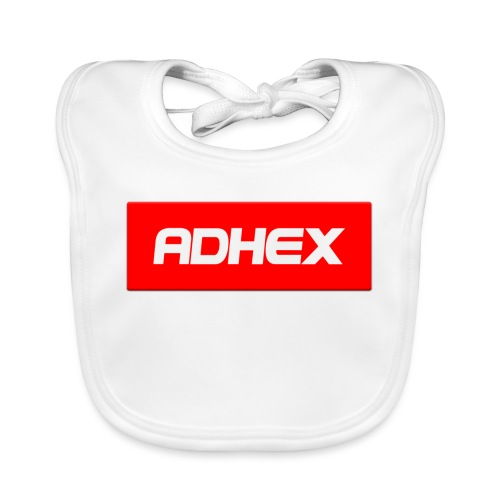 Adhex X Suprim - Babero de algodón orgánico para bebés