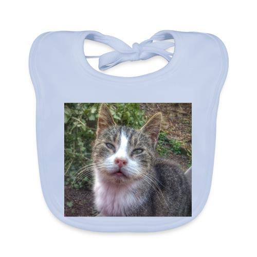Katze Max - Baby Bio-Lätzchen