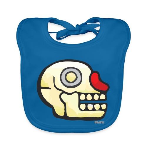 Aztec Icon Death - Organic Baby Bibs