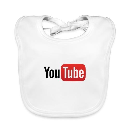 YouTube logo - Bavoir bio Bébé