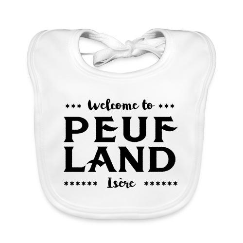 Peuf Land 38 - Isère - Black - Bavoir bio Bébé