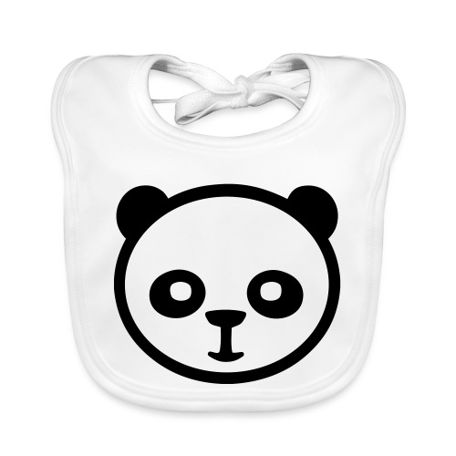 Pandabär, Große Panda, Riesenpanda, Bambusbär - Baby Bio-Lätzchen