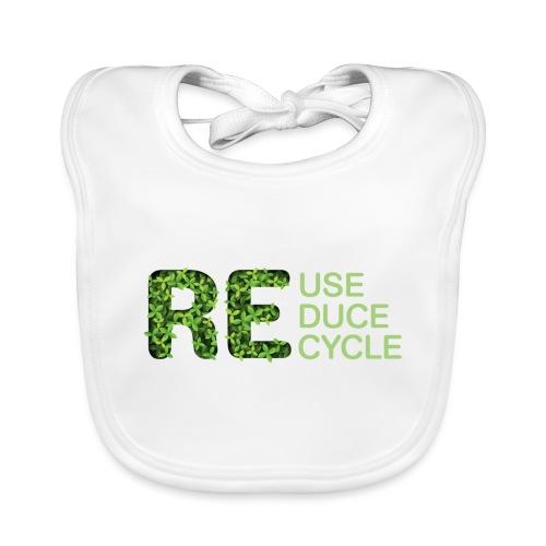 REuse REduce REcycle - Bavaglino ecologico per neonato