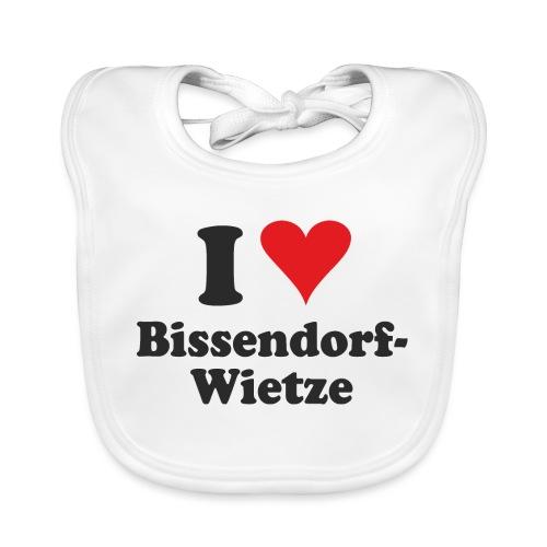 I Love Bissendorf-Wietze - Baby Bio-Lätzchen