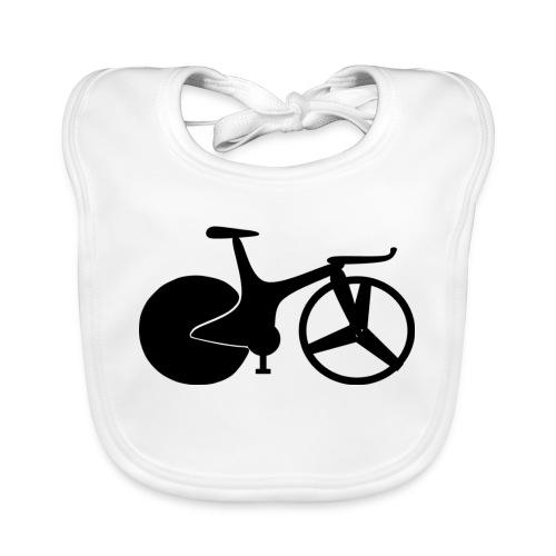 90s bike black - Organic Baby Bibs