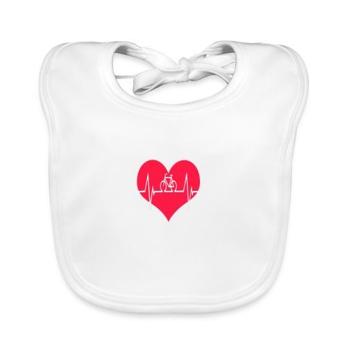 I love my Bike - Baby Organic Bib