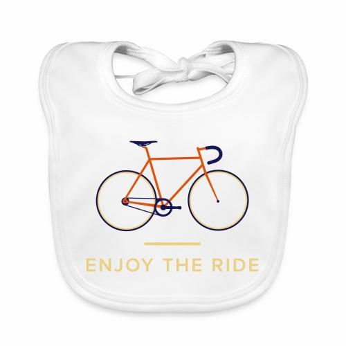 Vintage Racing Bike Retro Cycling T-Shirt - Baby Organic Bib