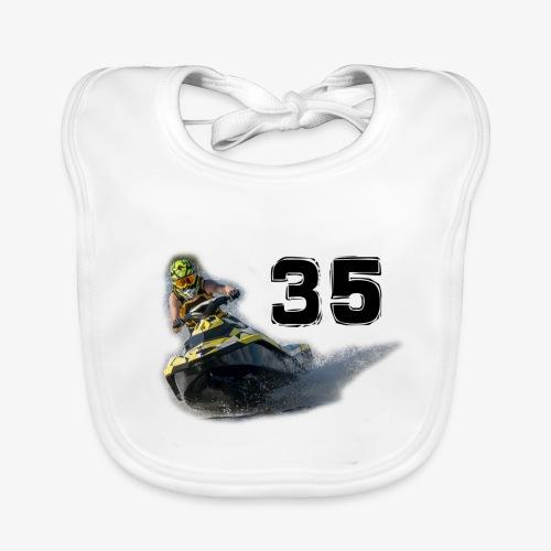 jetski35 - Vauvan luomuruokalappu